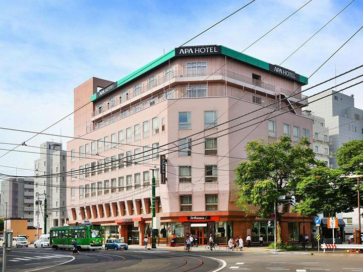 APA Hotel Sapporo Susukino Ekinishi(APA札幌站西酒店)