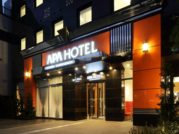APA Hotel Asakusa Kaminarimon(雷門淺草 APA 飯店)