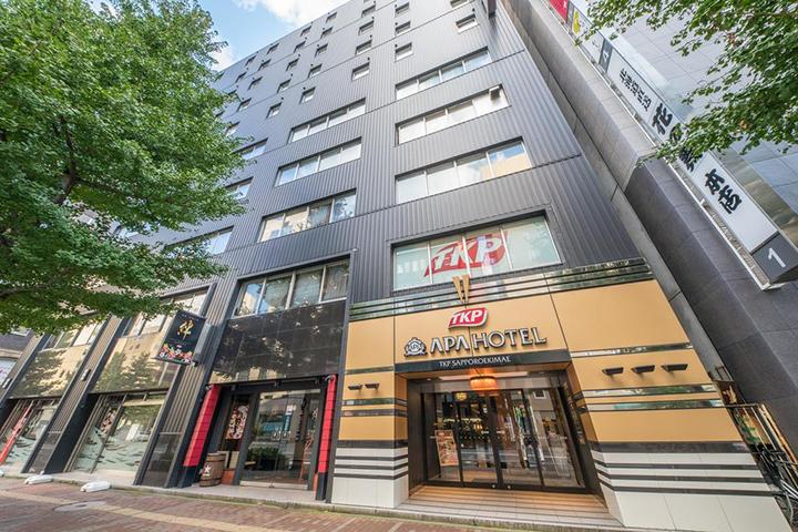 APA Hotel TKP Sapporo Ekimae(札幌站前APA酒店TKP)