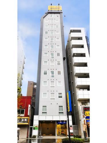 Super Hotel Ueno-Okachimachi(野禦徒町超級酒店)