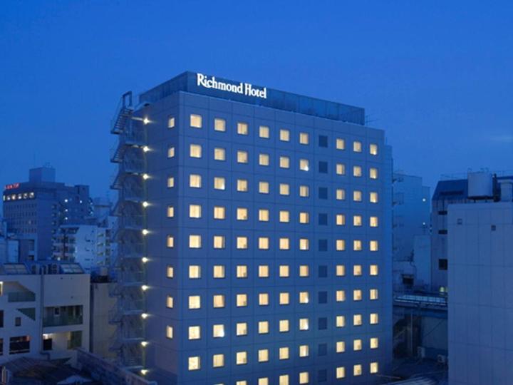 Richmond Hotel Kumamoto Shinshigai(里士滿熊本新市街酒店)