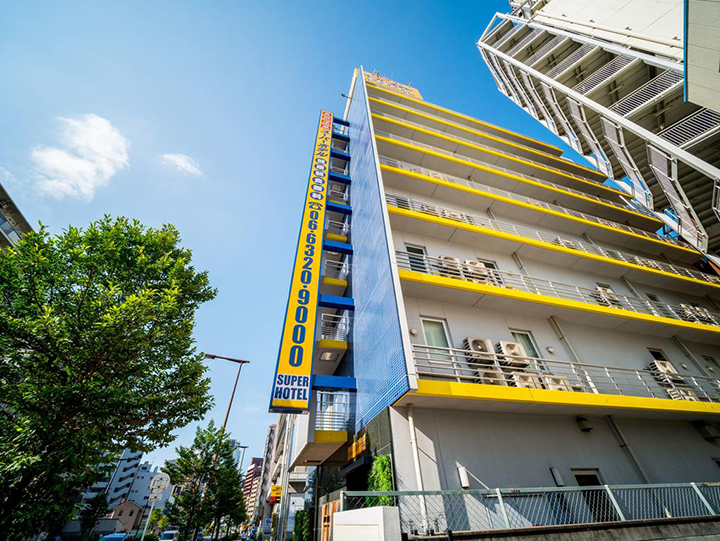 Super Hotel JR Shin-Osaka Higashiguchi(新大阪東口超級酒店)