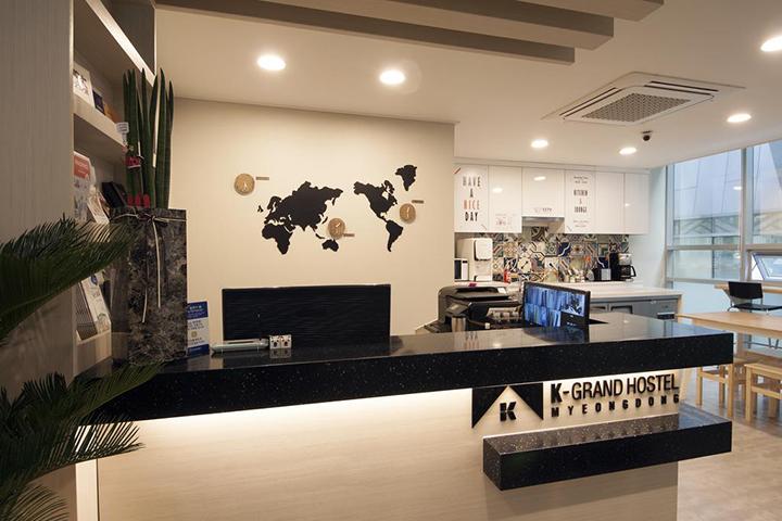 K-Grand Hostel Myeongdong(明洞K-大旅舍)