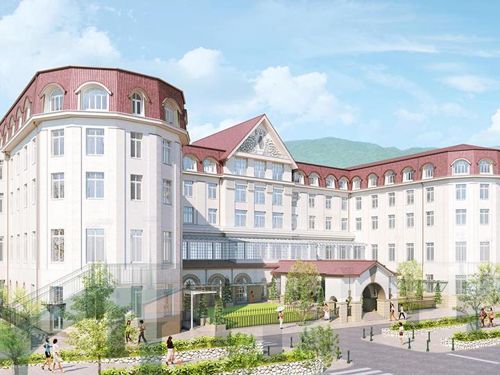 Takarazuka Hotel (reopening at a new location on May 14, 2020)