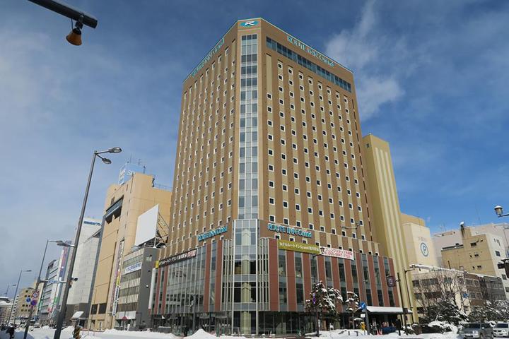 Hotel Route Inn Grand Asahikawa Ekimae(旭川站前路線酒店)