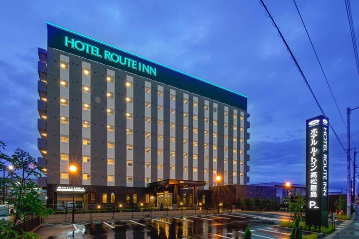 Hotel Route Inn Takamatsu Yashima(高松八島魯特酒店)
