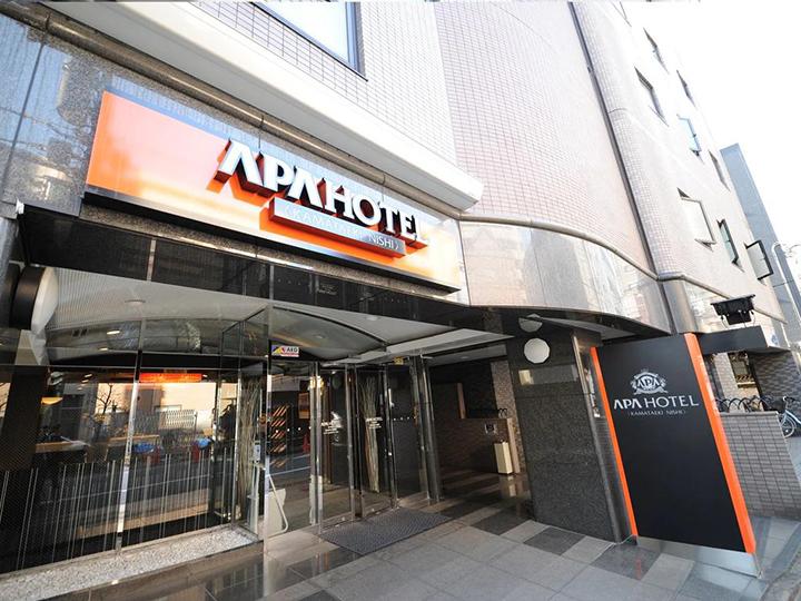 APA Hotel Kamata-Eki-Nishi(蒲田- 驛西APA酒店)