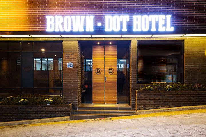 Brown Dot Hotel Business Busan Station(釜山站布朗圓點商務飯店)