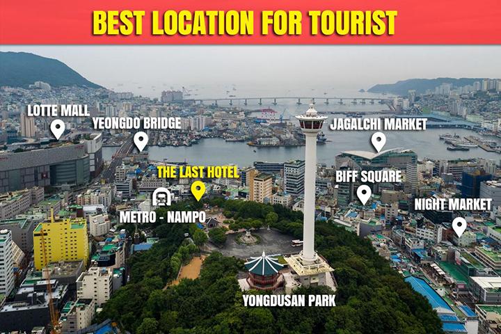 Nampodong The Last Hotel(南浦洞拉斯特酒店)