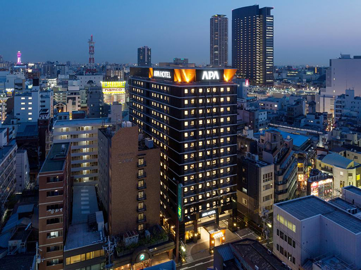 APA Hotel Namba-Eki Higashi(難波站東APA酒店)