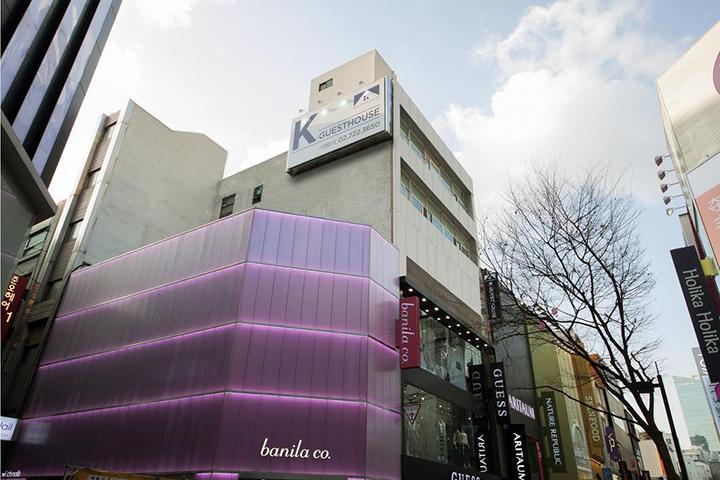K-Guesthouse Myeongdong 4(明洞4号旅舍)