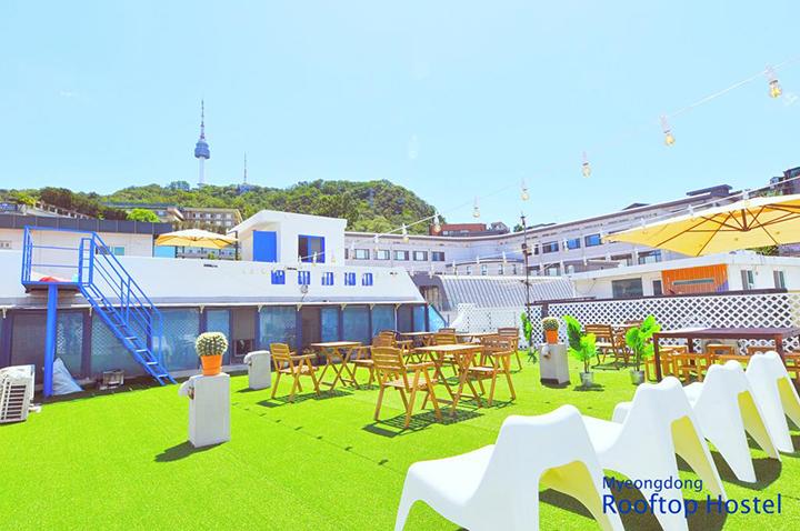Myeongdong Rooftop Hostel(明洞屋頂旅館)