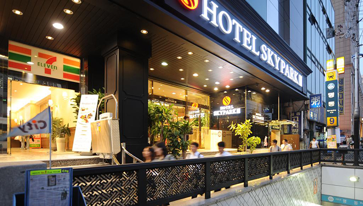 Hotel Skypark Myeongdong 3(空中花園明洞酒店 3)