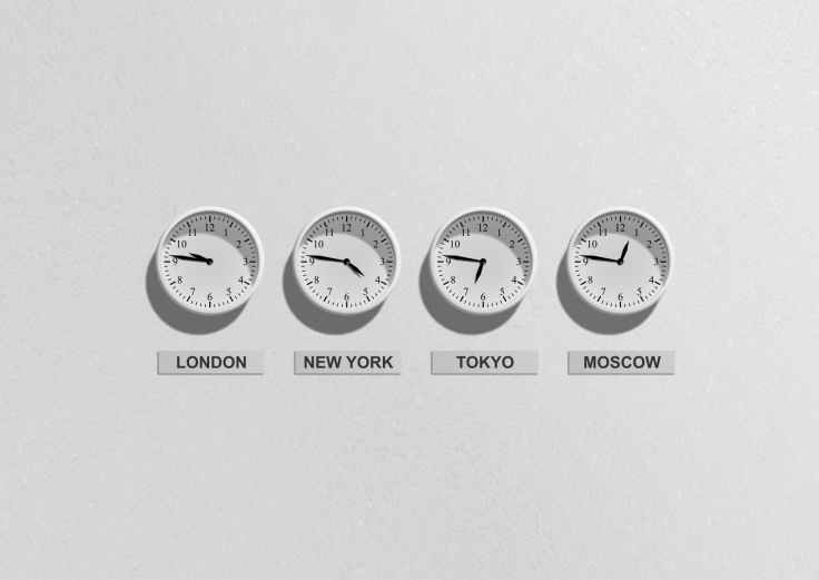 london new york tokyo and moscow clocks