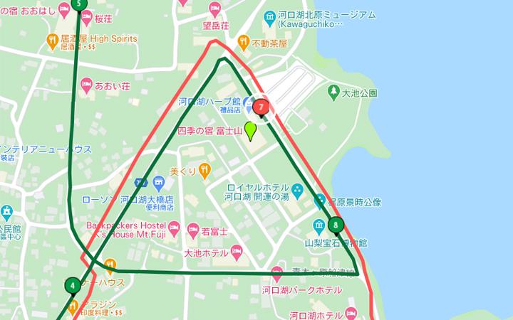 富士山四季之宿地圖