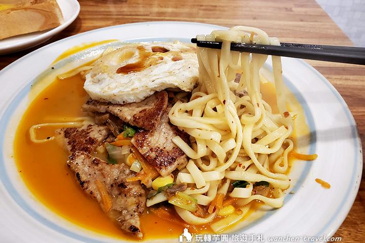 Mei豬廚坊 XO醬鐵板麵套餐