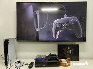 黑色PlayStation 5 渲染圖