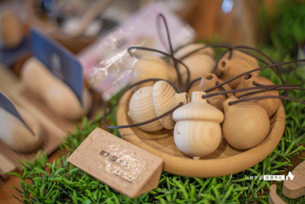 精緻木製品的台灣小物商店 -照片:玩轉芋圓旅遊手札