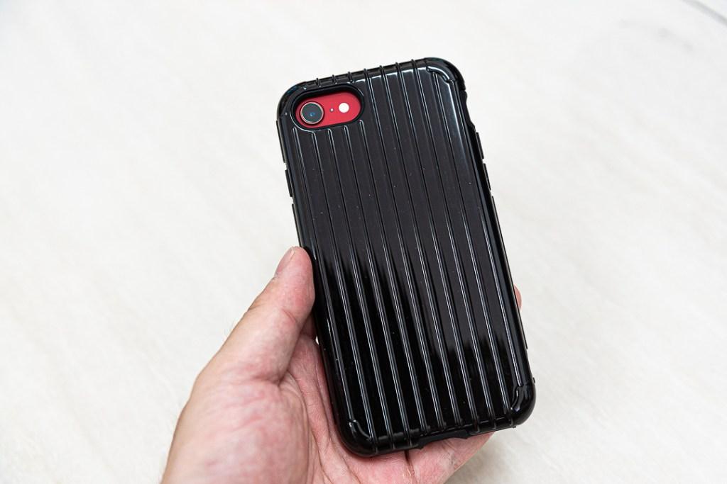 日本東京Gramas 輕巧日系的軍規防護手機殼 黑色