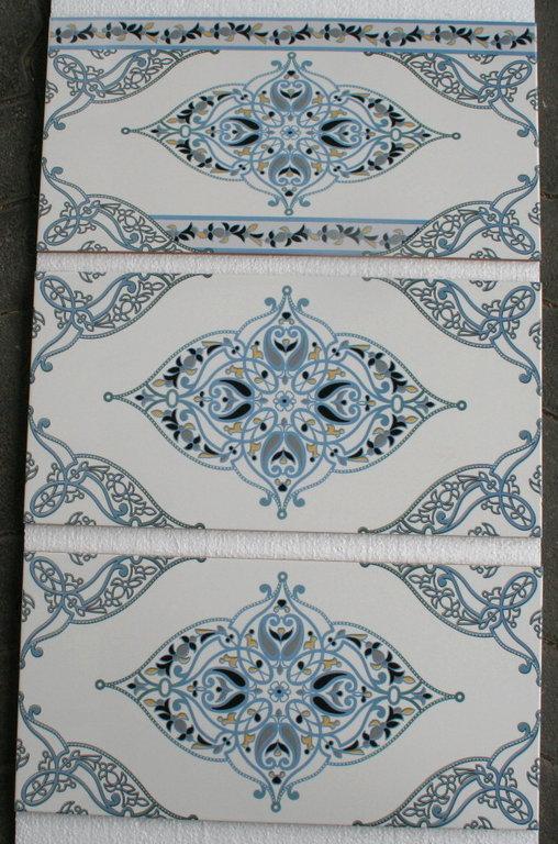 maurische Wandfliese Settat orientalisch Kchenspiegel Bad