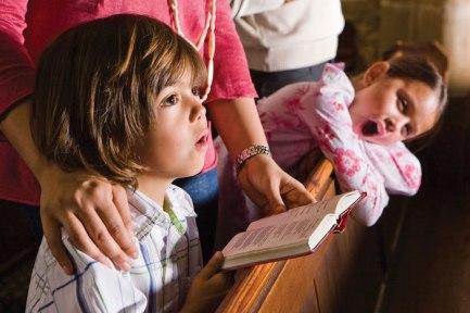 children don't understand church