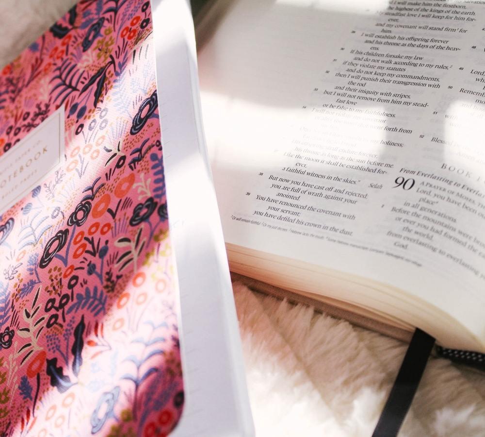 bible study journal Victoria Bilsborough