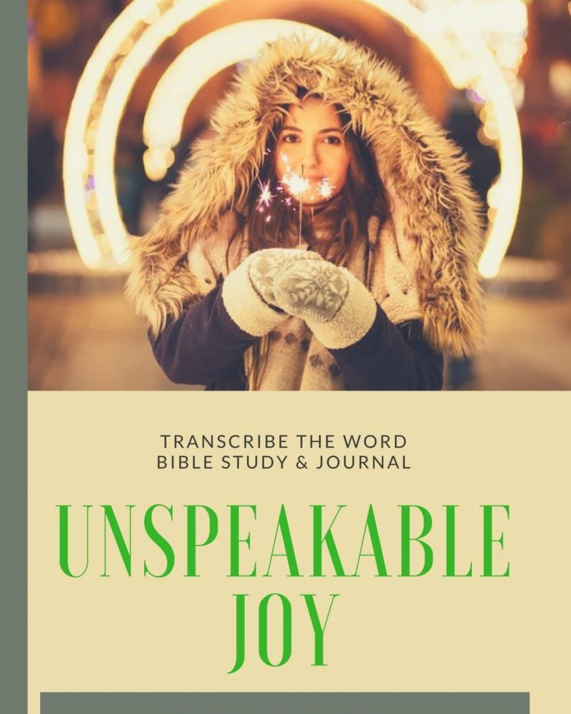 Unspeakable joy front book cover
