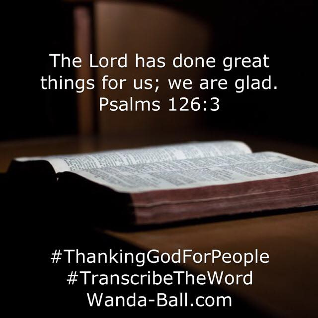 thank god for people psalms 126-3