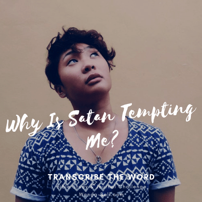 Transcribe The Word – Why Is Satan Tempting Me?