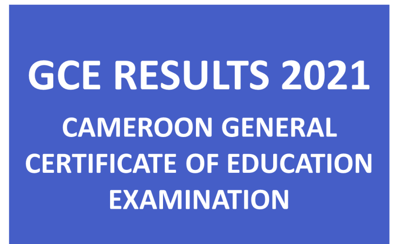 cameroon gce results 2021