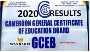 Cameroon GCE Results 2020 PDF