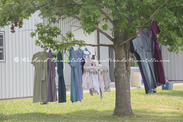 Clothes on the line in Arthur IL 2  Wanda Brunstetter
