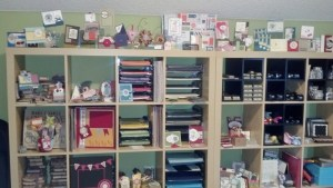 Continuation of shelves and displays