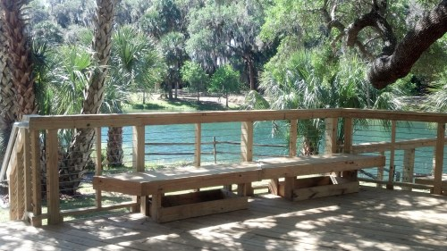 Another view of Gemini Springs Park.