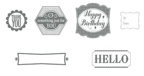 Label Something Stamp Brush Set Digital Download  136715   Price: $4.95