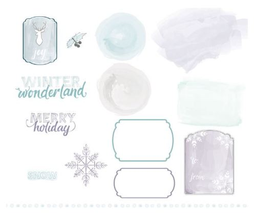 Watercolored Winter Kit Digital Download  136678   Price: $9.95