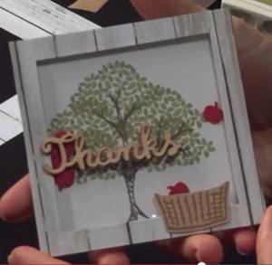 Thanks Basket Apples