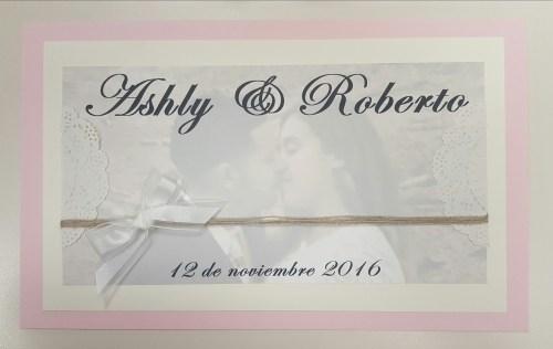 For their wedding card box