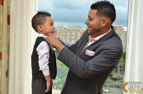 Their son Ian Rosado