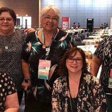 Top Row: Me, Linda B, Janet M. Bottom Row: Debra L, Linda H., Cindy P.