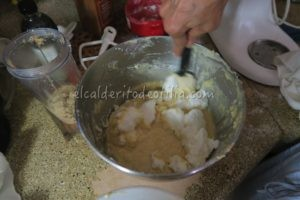 Envolvente con merengue