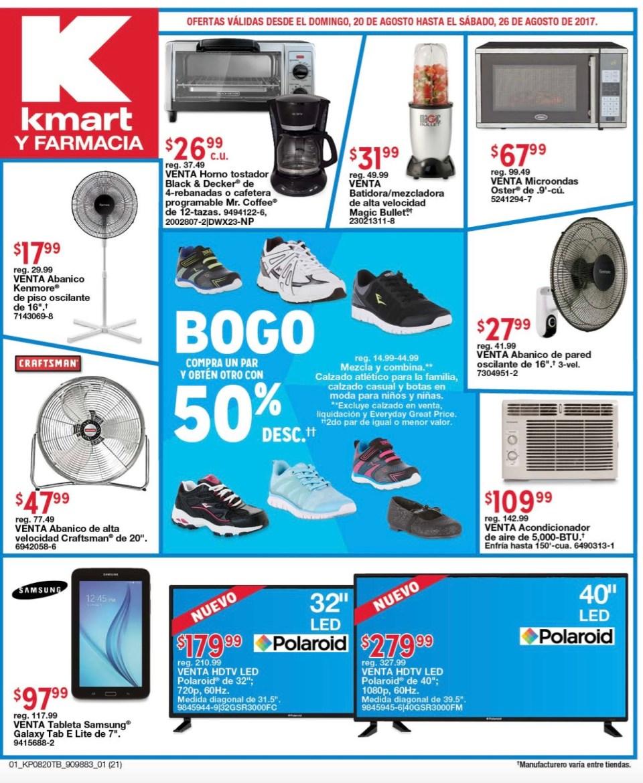 Shopper KmartPR 20 a 26 agosto 2017