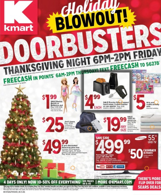 KMART SHOPPER BLACK FRIDAY USA