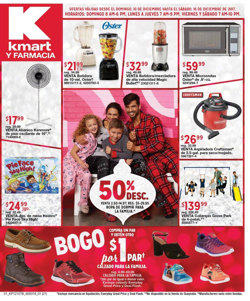 Shopper KMART 10 a 16 de diciembre de 2017