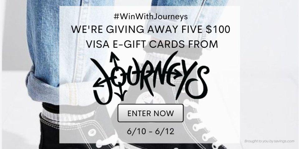 GIVEAWAY  WIN WITH JOURNEYS