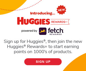 Huggies – Rewards and Coupons