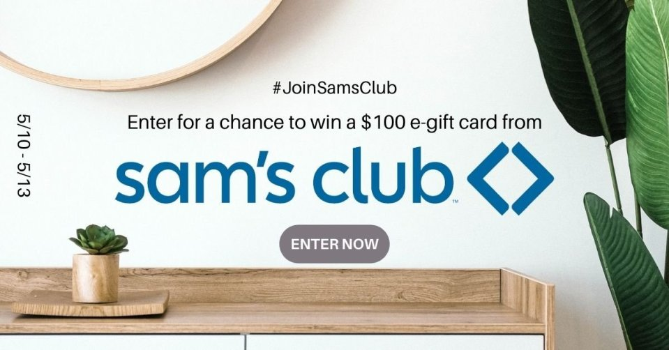 JOIN Sam's Club GIVEAWAY