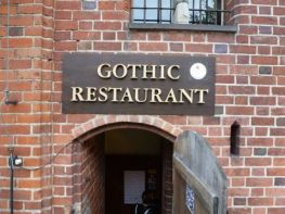 Castle Slow Food restaurant.