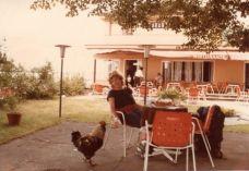 Lunch near Lake Como.