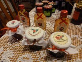 W Aroniach jams and vodkas.